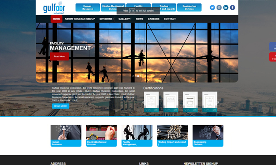 Builders & Developers website design Cochin